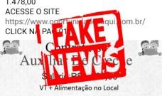 Smed informa que são falsas as divulgações de vagas para Auxiliar de Creche