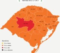 Caxias do Sul segue na bandeira laranja até o dia 12 de outubro