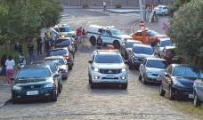 Ação da tarde deste sábado teve estabelecimentos multados e dispersão de pessoas em áreas públicas