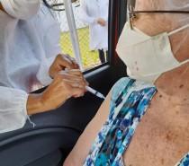 Vacinação será ampliada para idosos de 73 anos ou mais na terça-feira e de 72 ou mais na quarta-feira