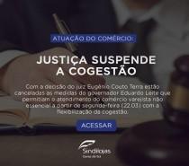 Economia: Justiça suspende a cogestão