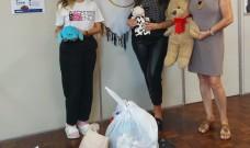 Universitários fazem doações à Casa de Apoio Viva Rachel