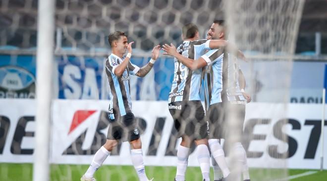 Grêmio goleia Aragua por 8 a 0 e segue líder do grupo na Sul-Americana