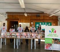 Fundação Marcopolo entrega duas toneladas de alimentos para famílias de Caxias do Sul