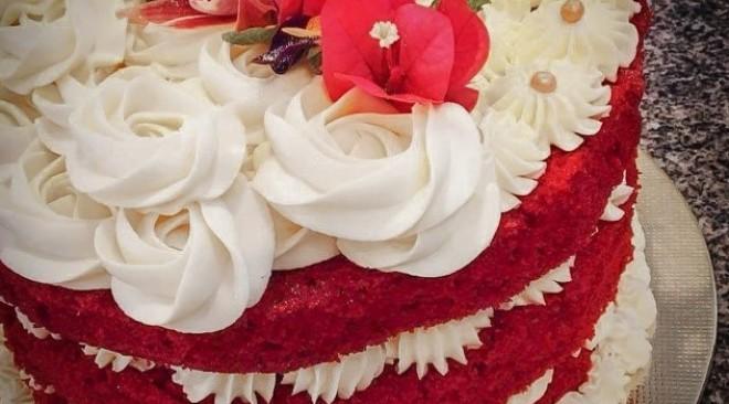 Receita de Bolo Red Velvet para adoçar o Dia das Mães