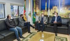 Prefeito de Caxias recebe presidente da Assembleia Legislativa