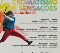 """Lucas Hanke lança """"Cromatismo de sensações"""""""
