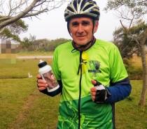 Dia dos Avós: neto é inspiração para atleta percorrer 1.000 km em desafio de pedal do Sesc