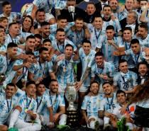 Argentina é campeão da Copa América 2021