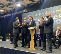 Jair Bolsonaro inaugura placa alusiva aos 120 anos da CIC Caxias