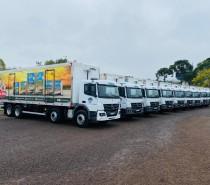 Fröhlich renova sua frota de caminhões