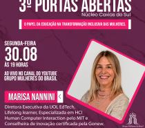 Grupo Mulheres do Brasil – Núcleo Caxias do Sul: Portas Abertas para novas integrantes