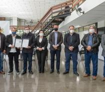 Cidade / Assinado o contrato com a empresa que fará o projeto do Aeroporto da Serra Gaúcha