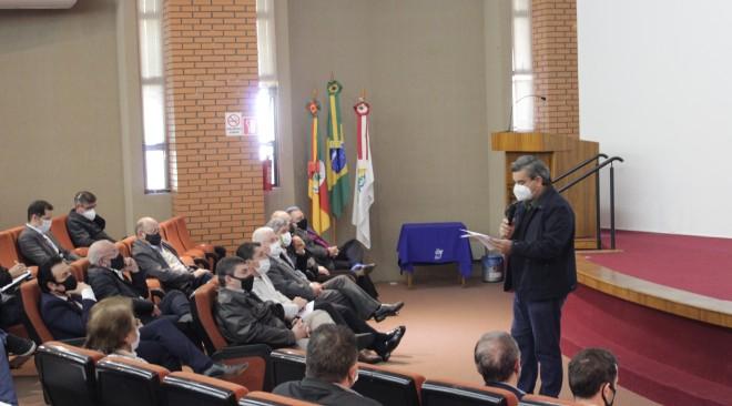 Resultados da consulta pública para plano de concessão do polo rodoviário da Serra são apresentados durante reunião na CIC Caxias