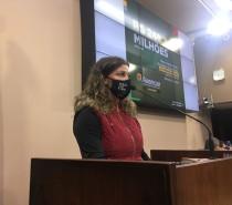 Política / Tatiane Frizzo apresenta programa de incentivo à saúde