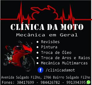 clinica da moto banner