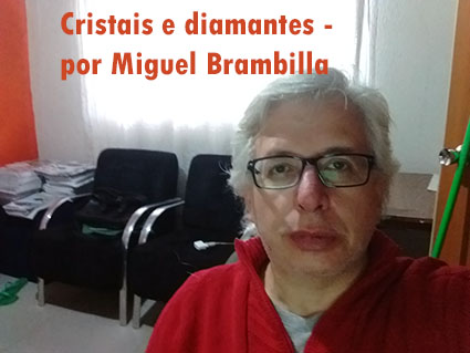 cristais e diamantes